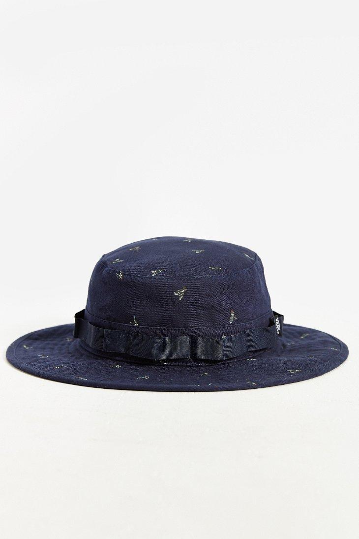 Lyst - Vans Boonie Hat in Blue for Men 049dd6c4544d