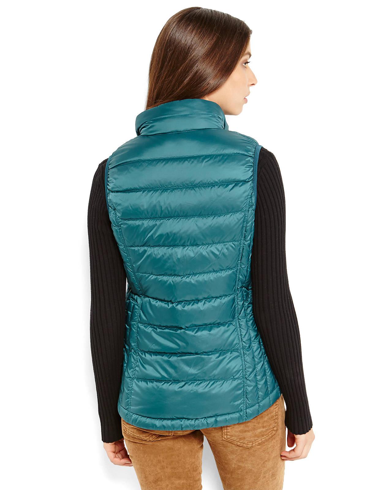 Weatherproof 32 Degrees Packable Down Vest In Black Lyst