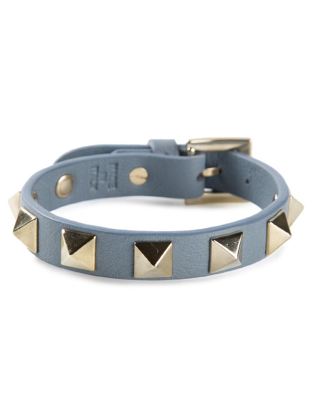 Valentino Rockstud bracelet - Blue eq1DuD