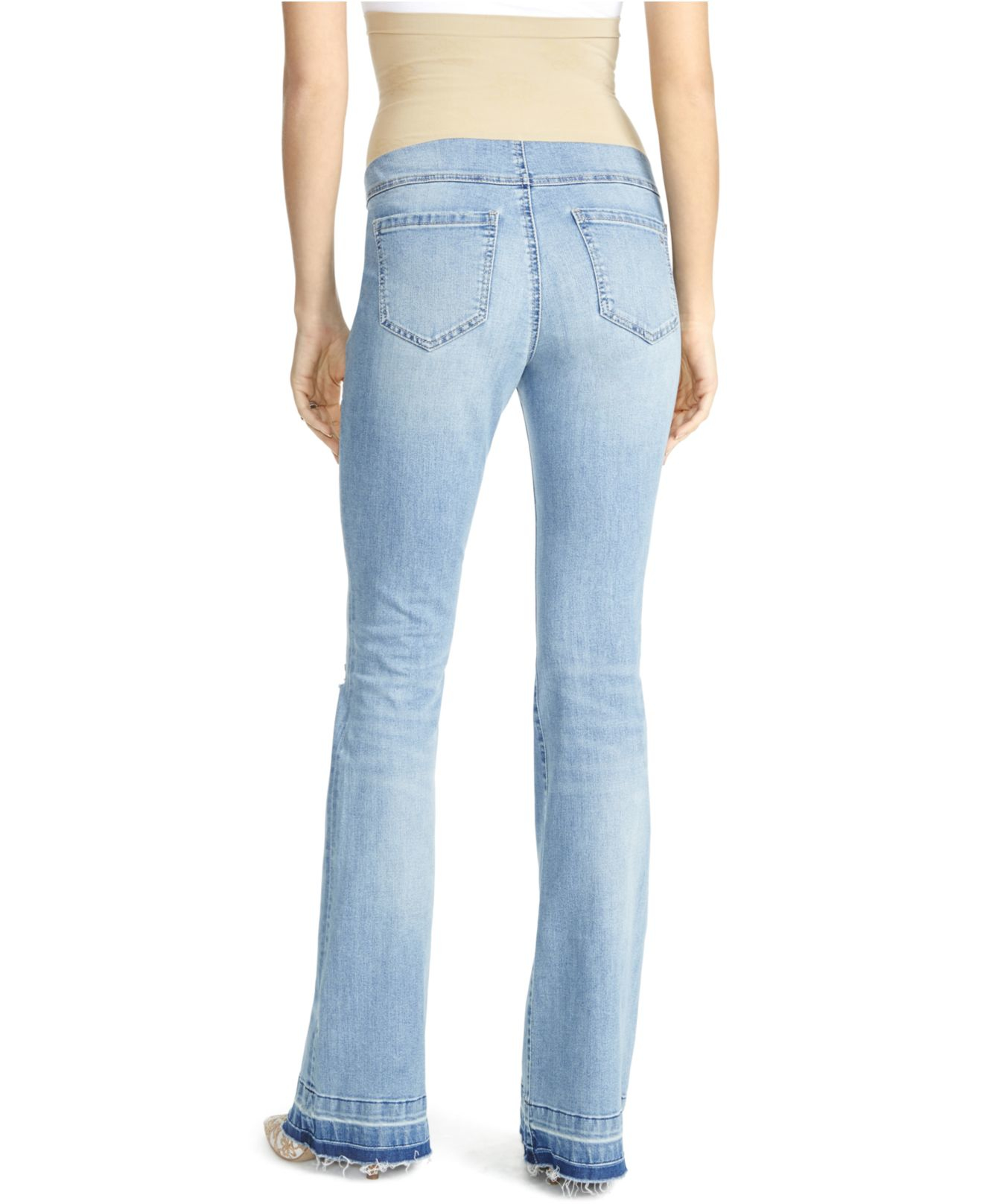 d1c88507e3044 Lyst - Jessica Simpson Maternity Flared Jeans in Blue