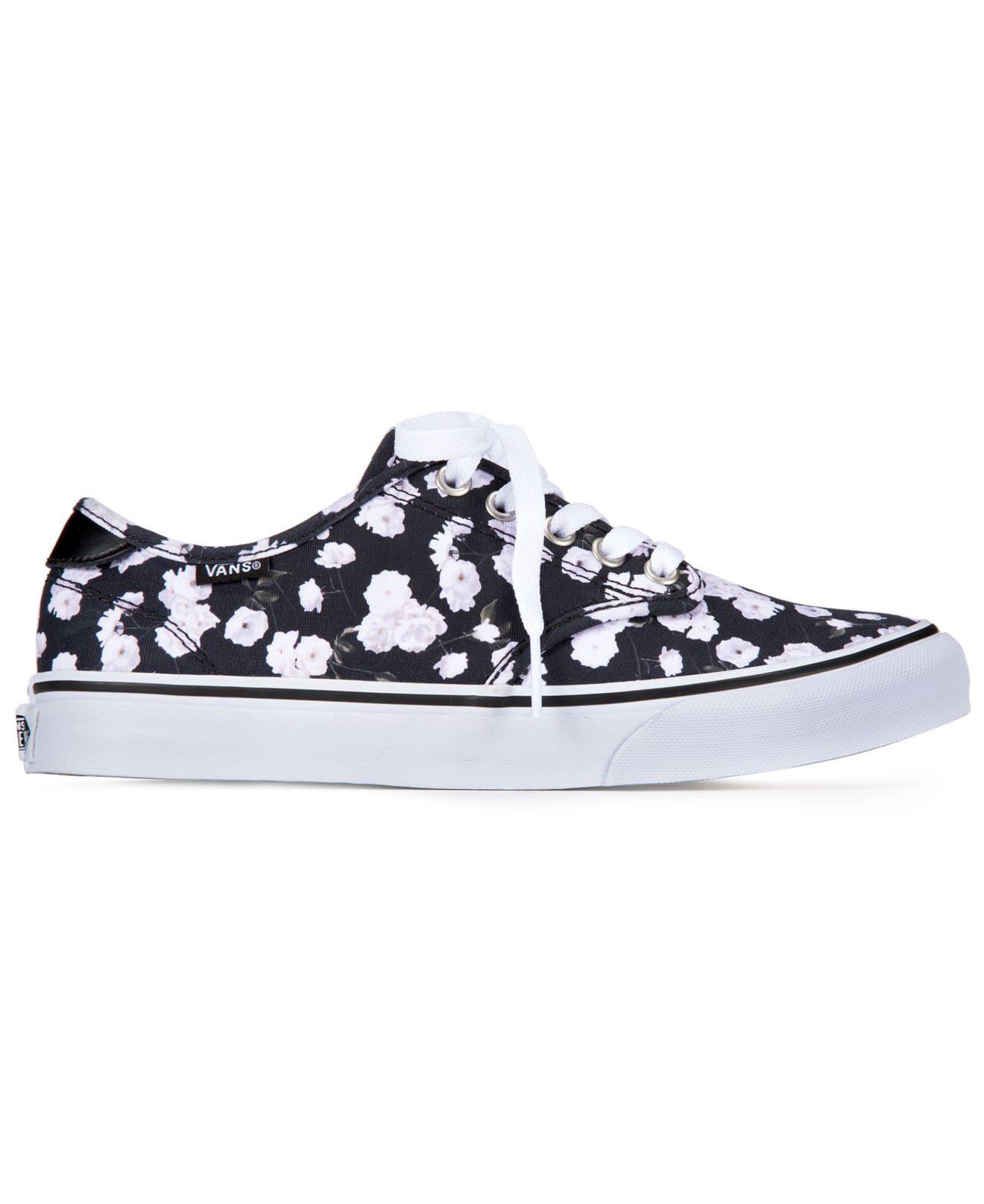 51211a597e Sneakers In Floral Women s Lyst Camden Black Vans qPwUgzI
