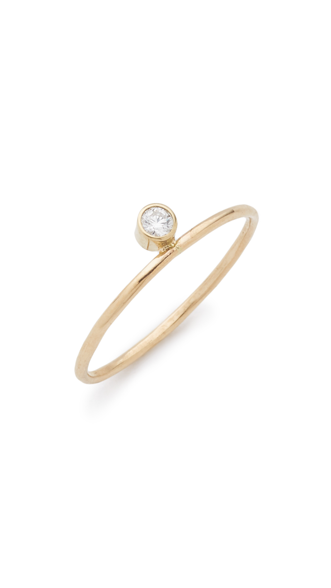 yellow halo i setting profile gold rings bezel si h set in diamond ring low engagement modern