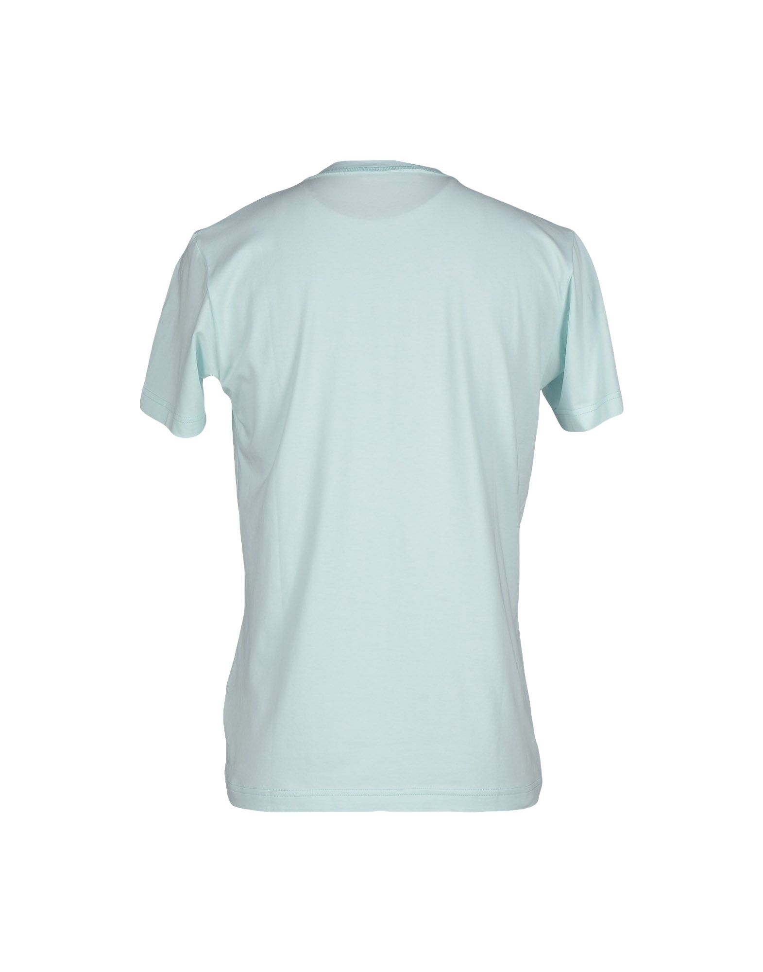 balmain t shirt in blue for men sky blue save 51 lyst. Black Bedroom Furniture Sets. Home Design Ideas