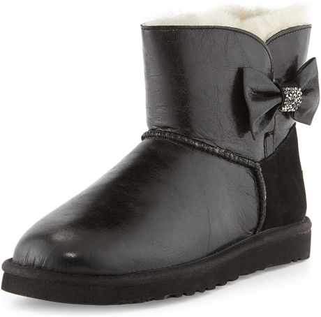b3e3fbf1459 Ugg Mini Bailey Bow Crystal Boots - cheap watches mgc-gas.com