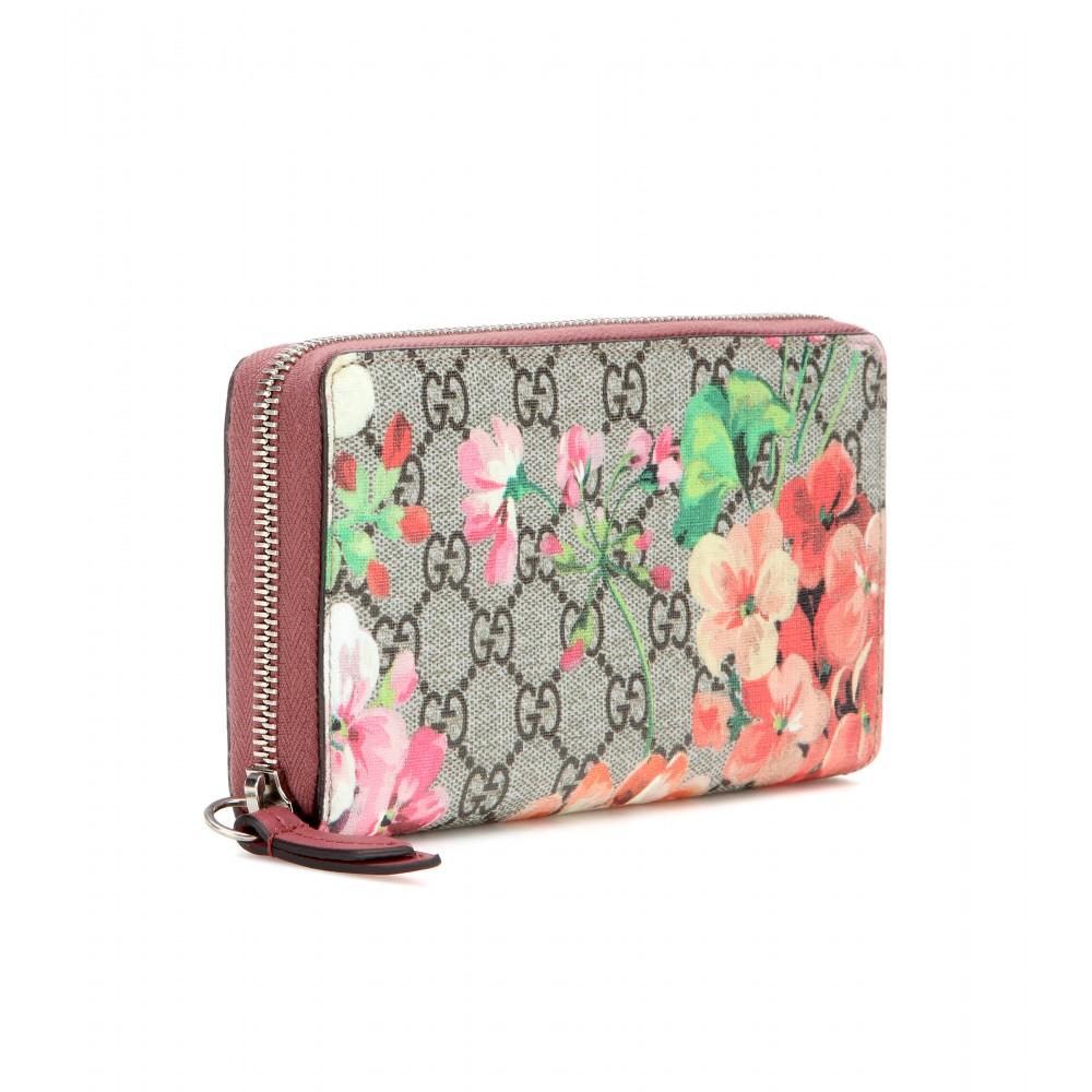5dd27e6f5e2a5e Gucci Gg Blooms Chain Wallet - Lyst