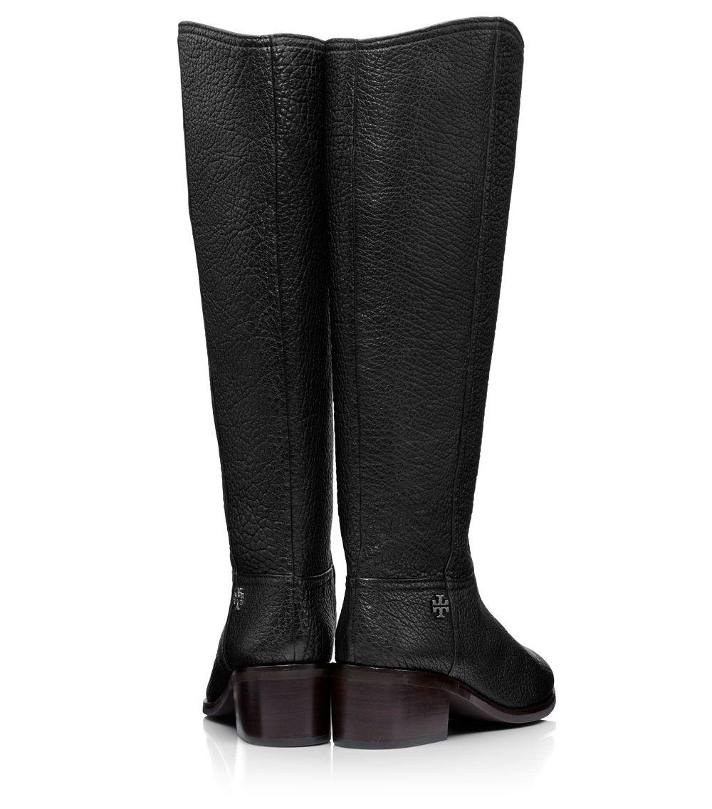 Tory burch Fulton Boot in Black