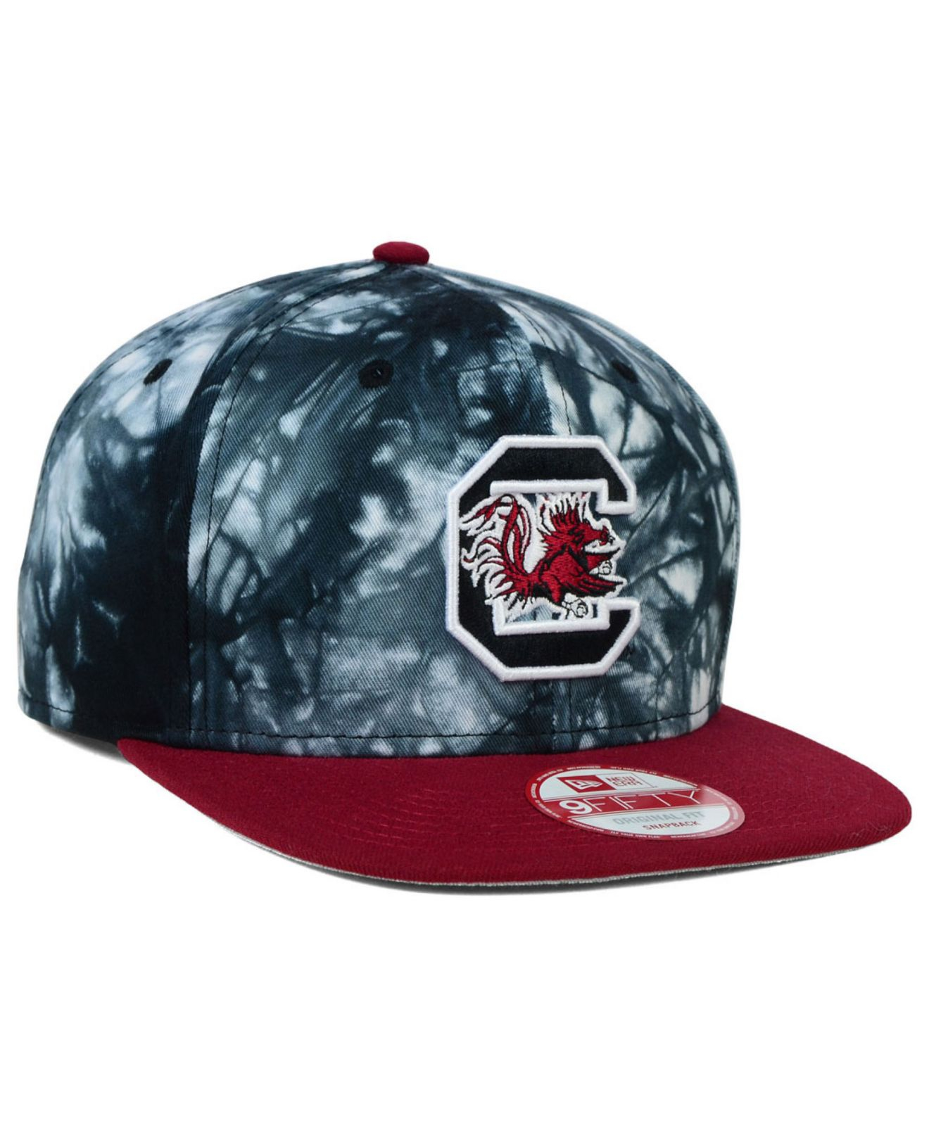 Lyst - Ktz South Carolina Gamecocks Overcast 9fifty Snapback Cap in ... 5f736ca25dec