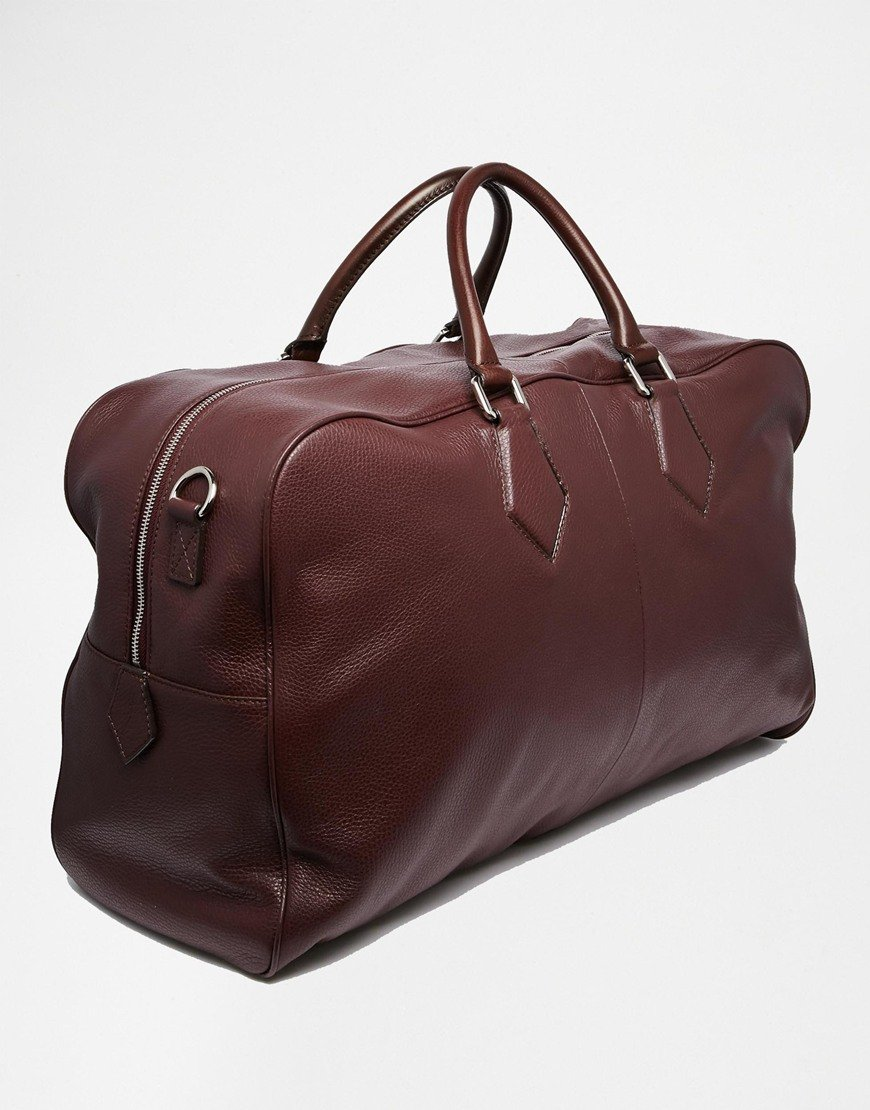 leather weekend bags for men - photo #5
