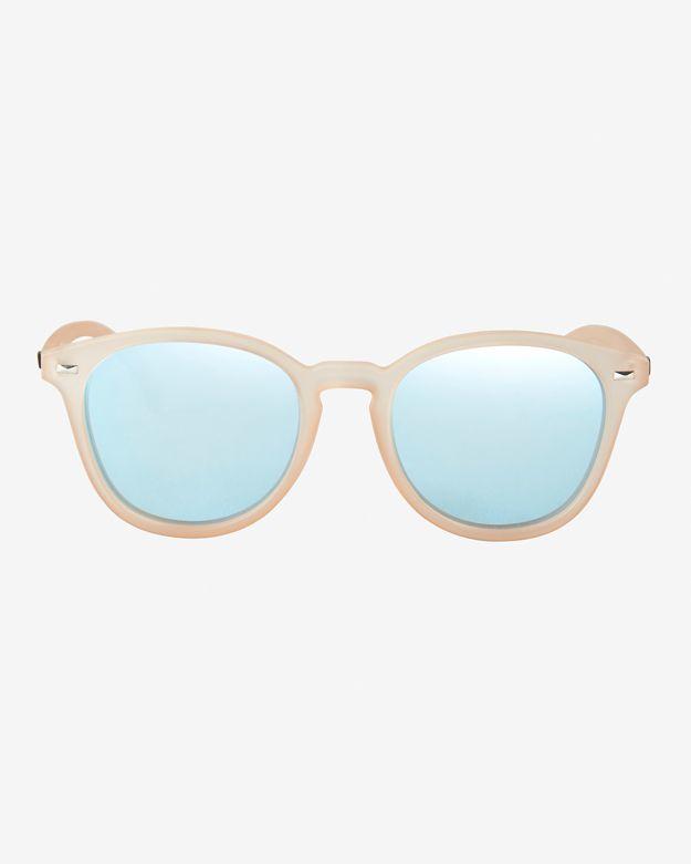 943487da5a Lyst - Le Specs Bandwagon Sunglasses  Raw Sugar in Pink