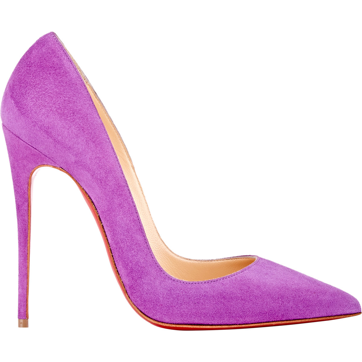 Christian louboutin so kate pumps in purple lyst