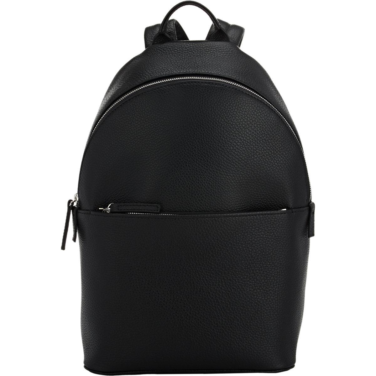 lyst barneys new york zip around backpack in black for men. Black Bedroom Furniture Sets. Home Design Ideas
