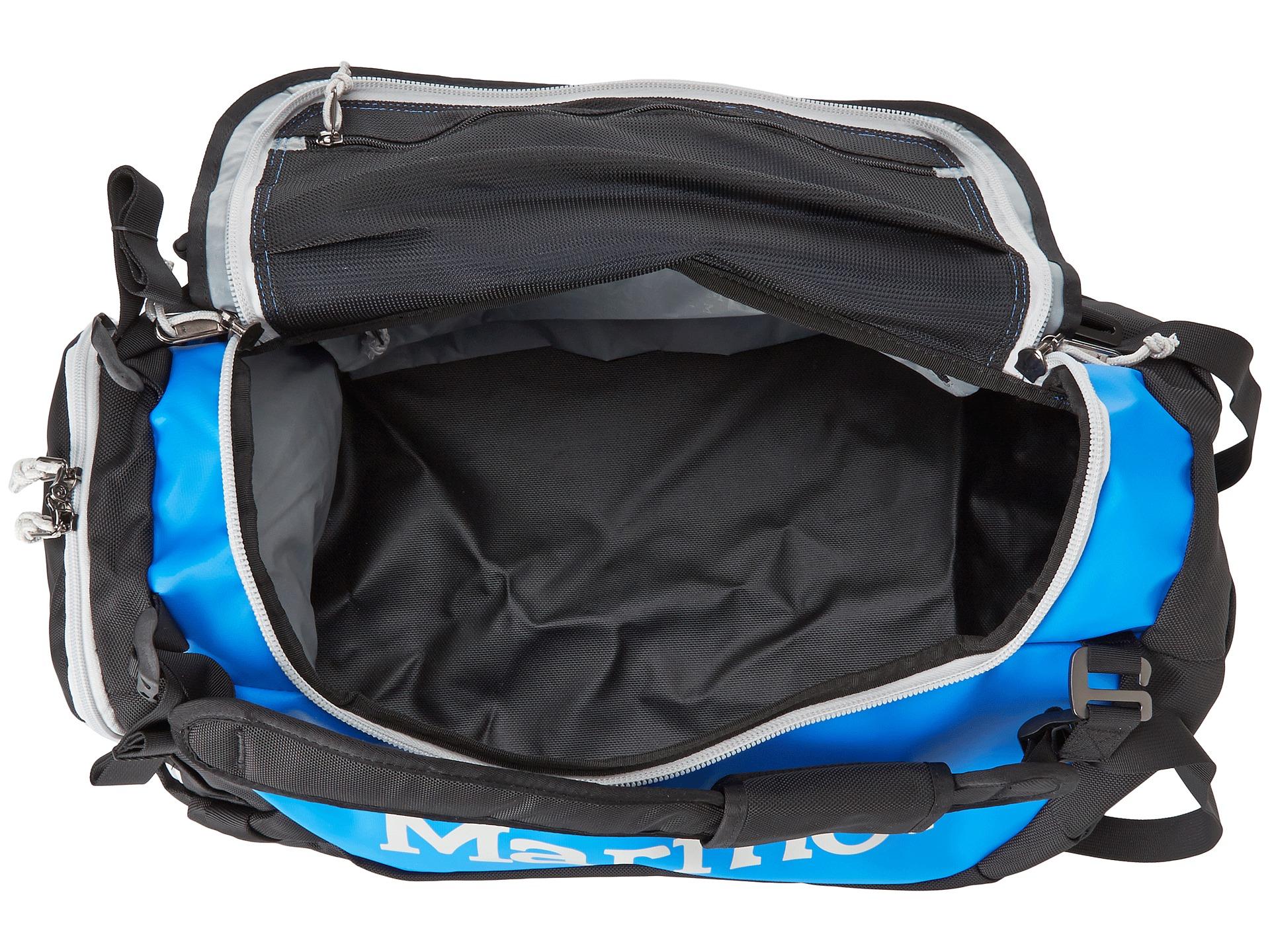 4bb5ccb2c75f Lyst Marmot Long Hauler Duffle Bag Small In Blue