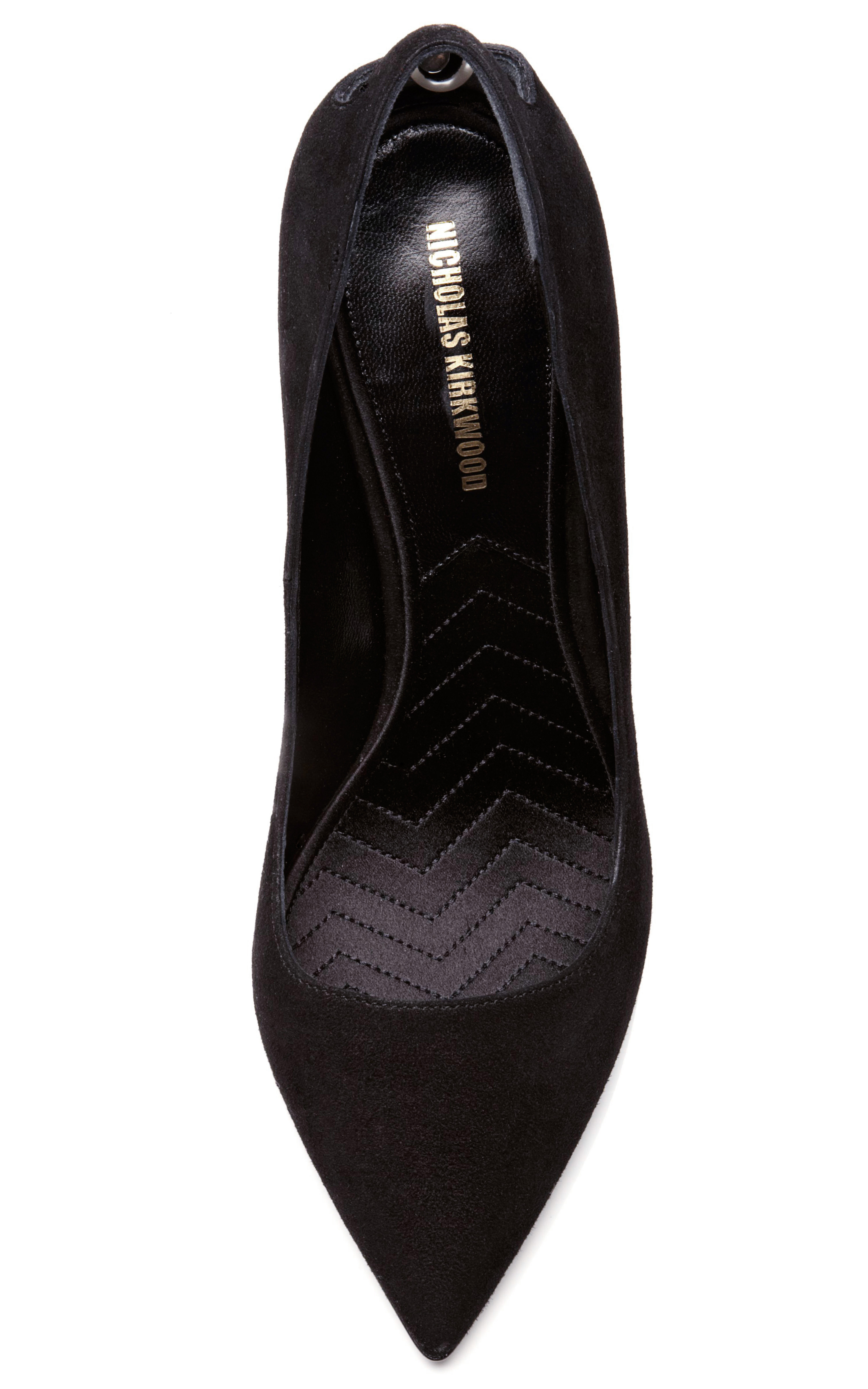 black single women in kirkwood Originally designing shoes for women info nicholas kirkwood's black smooth calfskin casati combat boots are styled with a tonal glossy metal heel inset with.