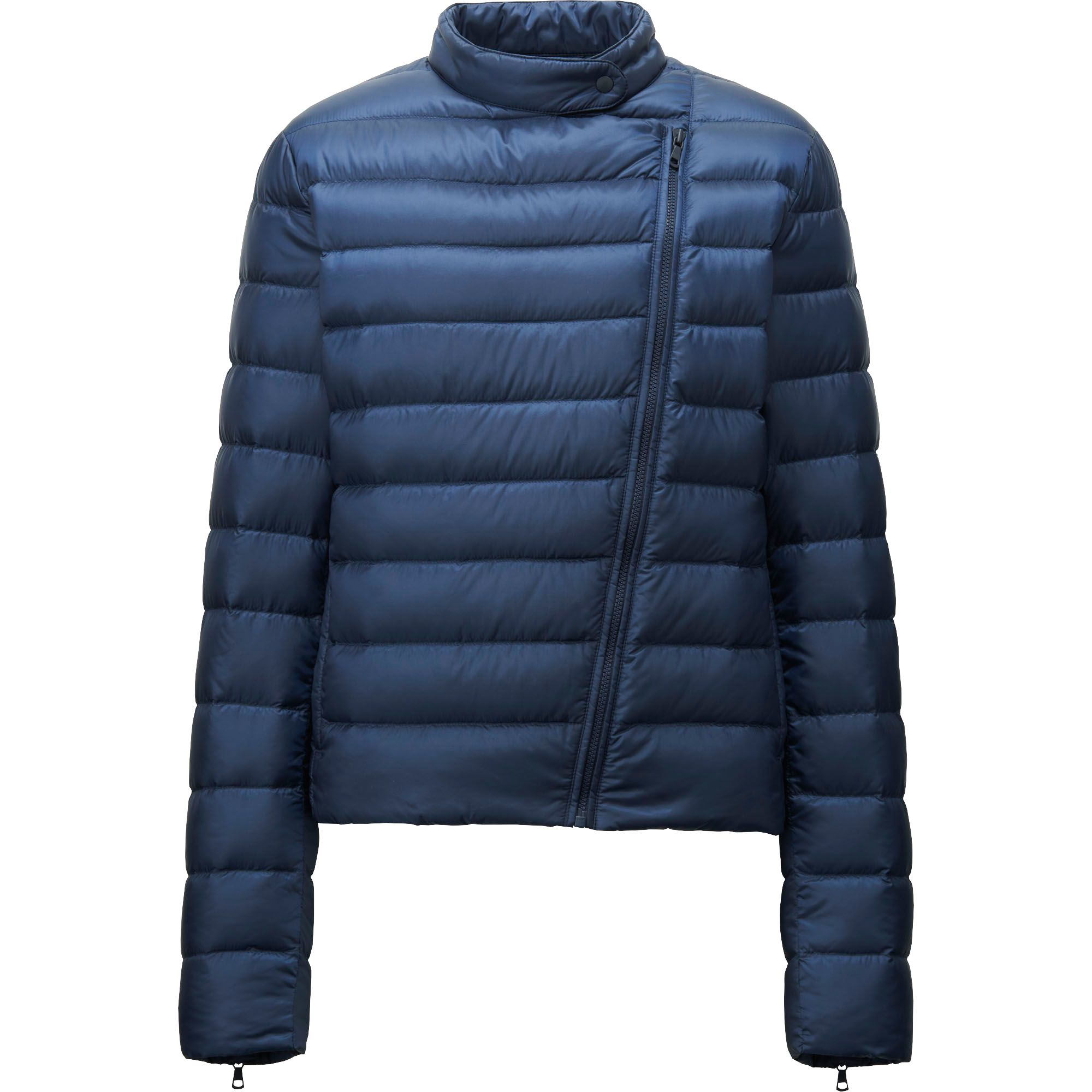 uniqlo women water defender ultra light down riders jacket in blue. Black Bedroom Furniture Sets. Home Design Ideas