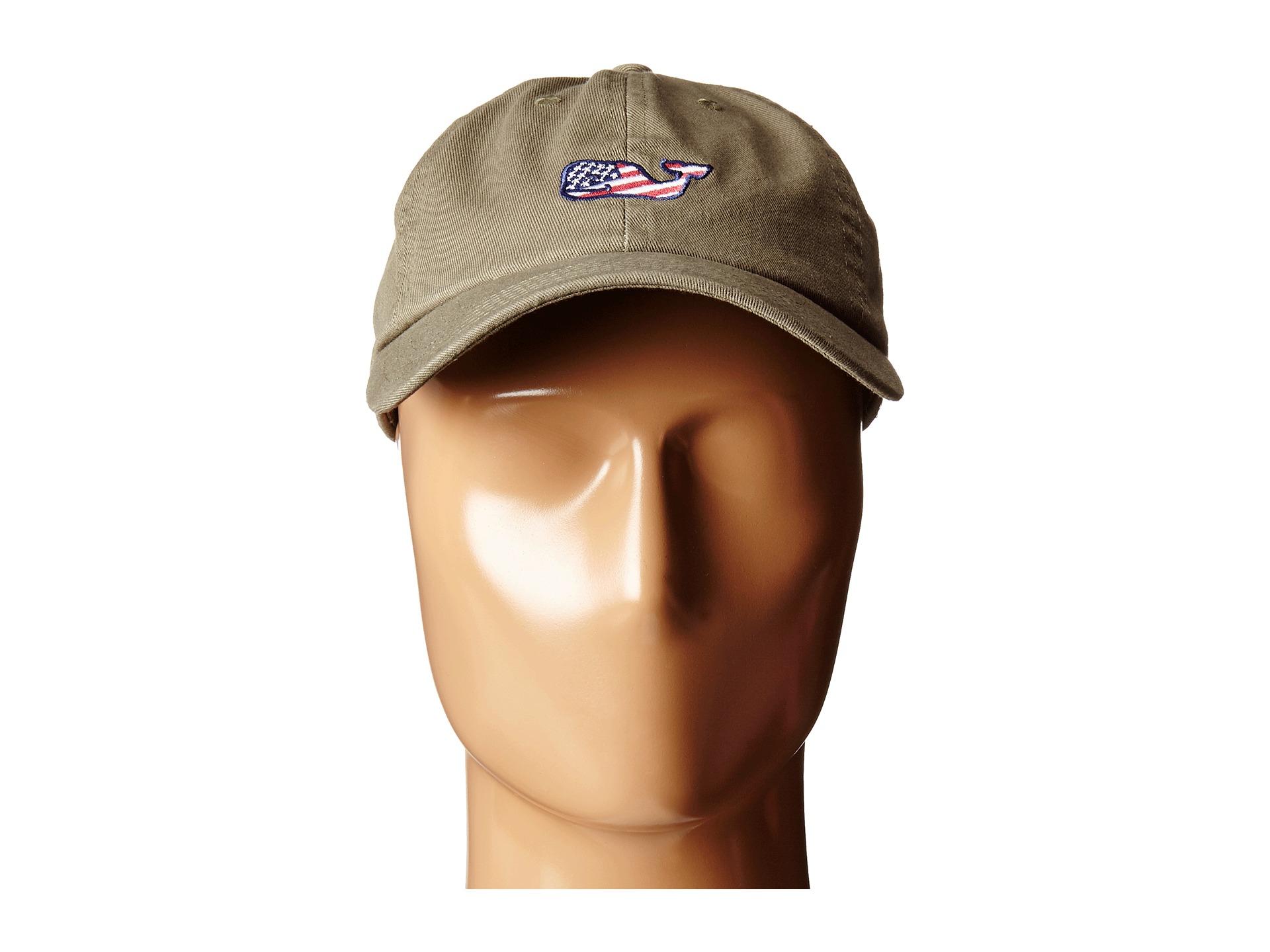 57c686557e86b Vineyard Vines Whale Flag Baseball Hat in Green for Men - Lyst