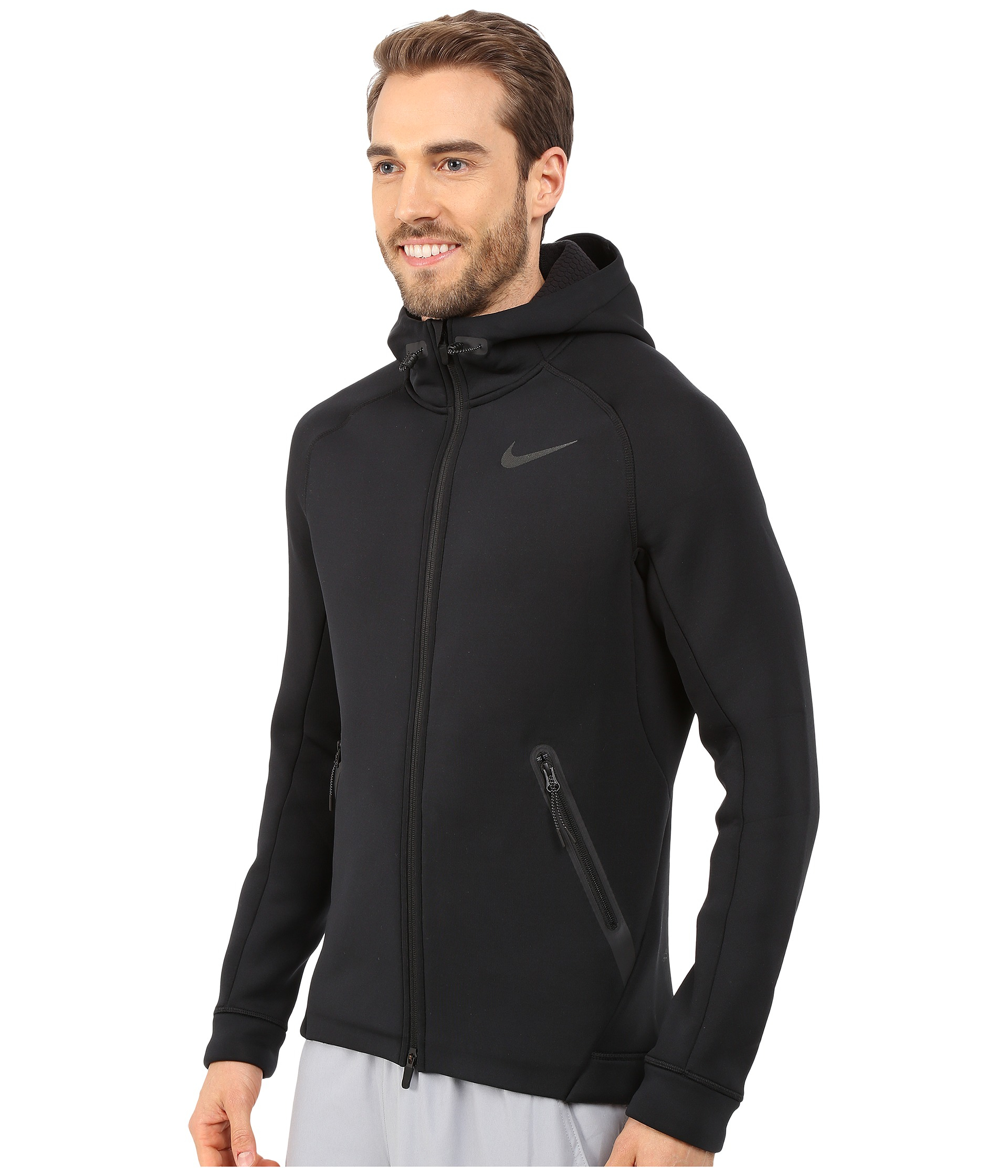 c44fe120 Nike Therma-sphere Max Training Jacket in Black for Men - Lyst
