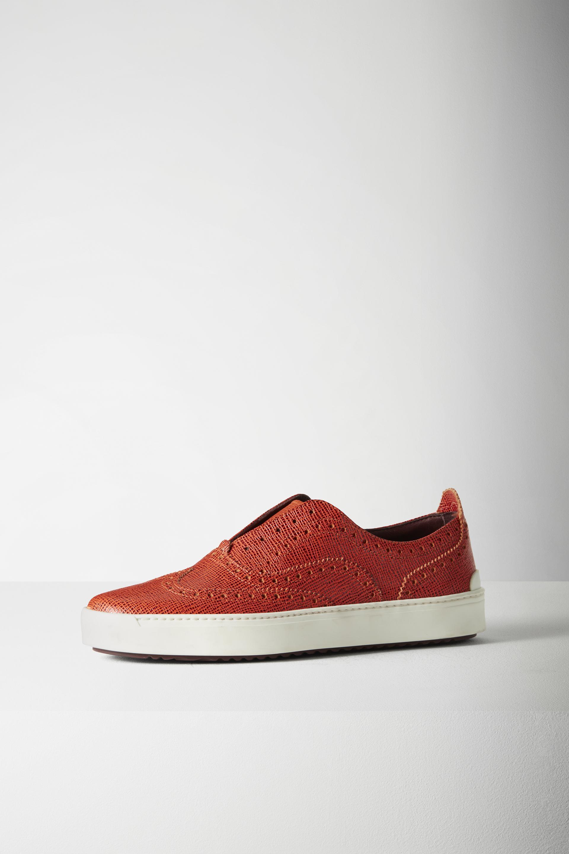 Lyst Rag Amp Bone Meli Sneaker In Orange