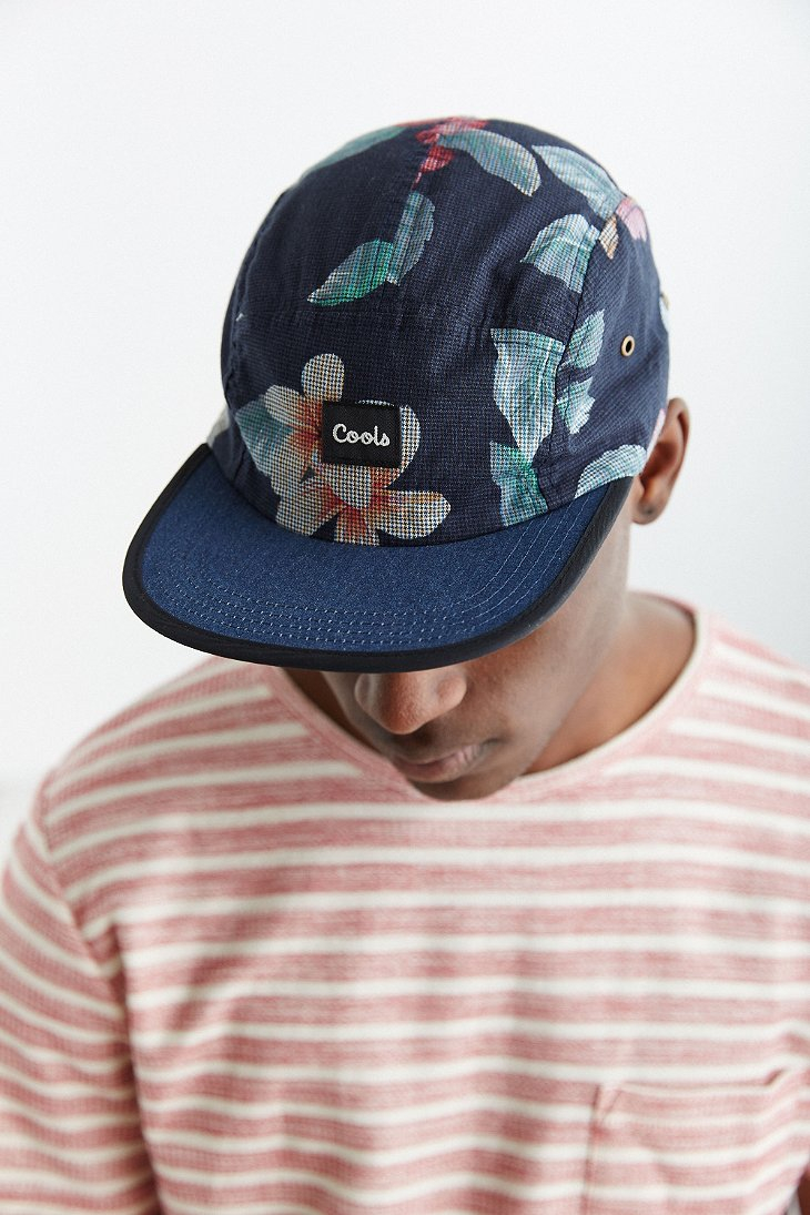 5ebb9713dd773 Barney Cools 5-Panel Hat in Blue for Men - Lyst