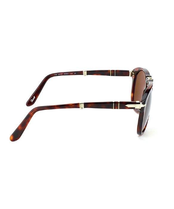 ccf623e9ca0 Lyst - Persol 714 Steve Mcqueen 24 57 Rectangle Foldable Sunglasses ...