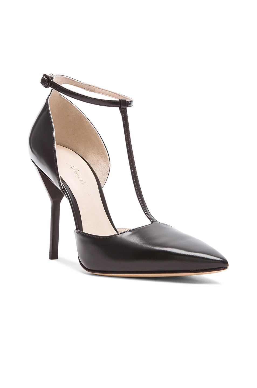 Black T Strap Womens Shoes