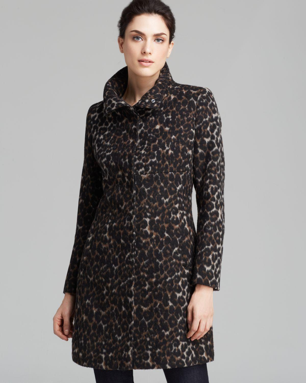 Women's Leopard Print Coats