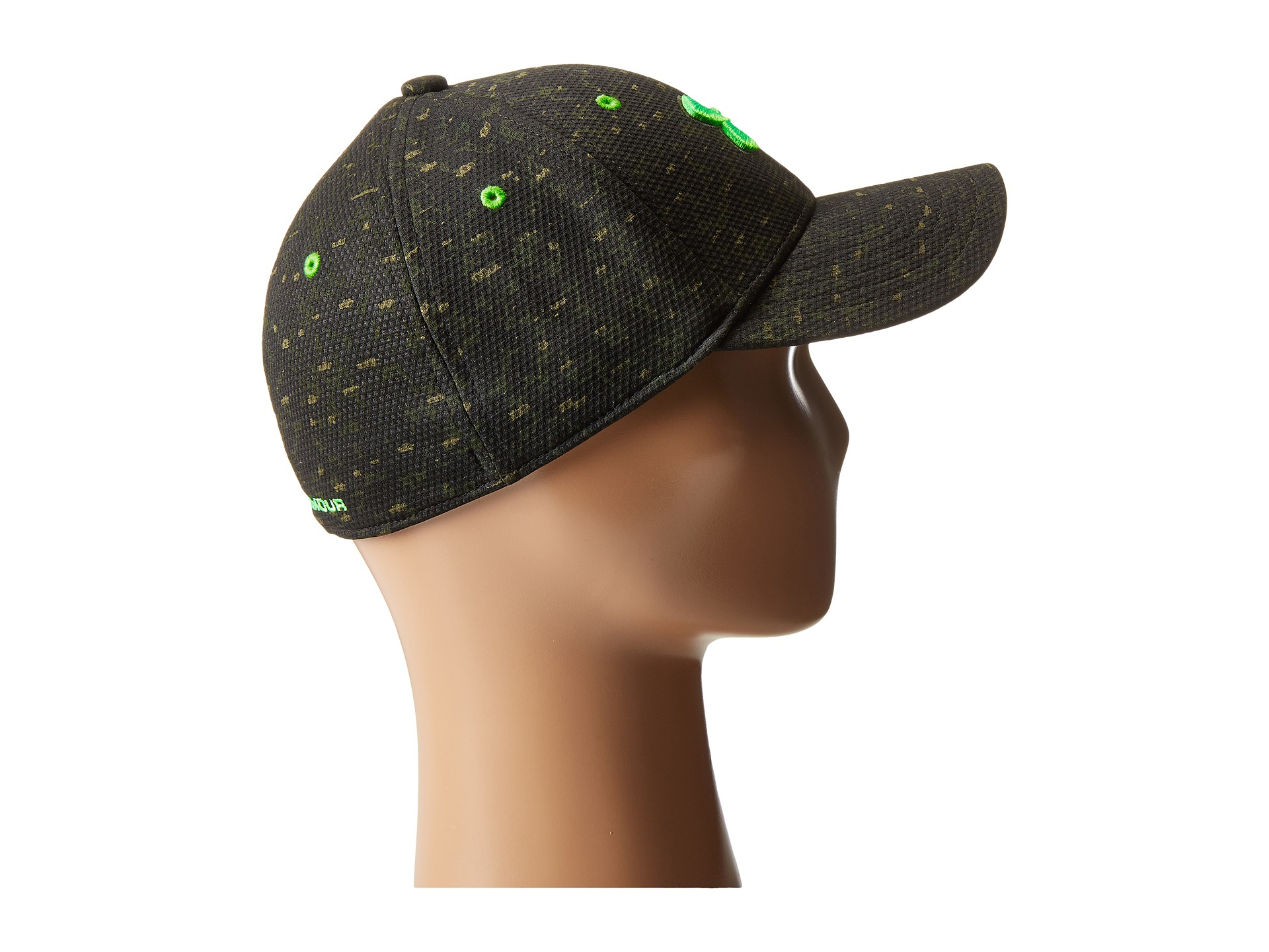bc401165f29c0 ... low cost lyst under armour ua printed blitzing cap youth in green for  men de99a eceb3