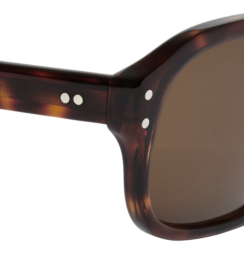 8ed0117f6a Lyst - Kingsman Cutler And Gross Tortoiseshell Acetate Square-frame ...