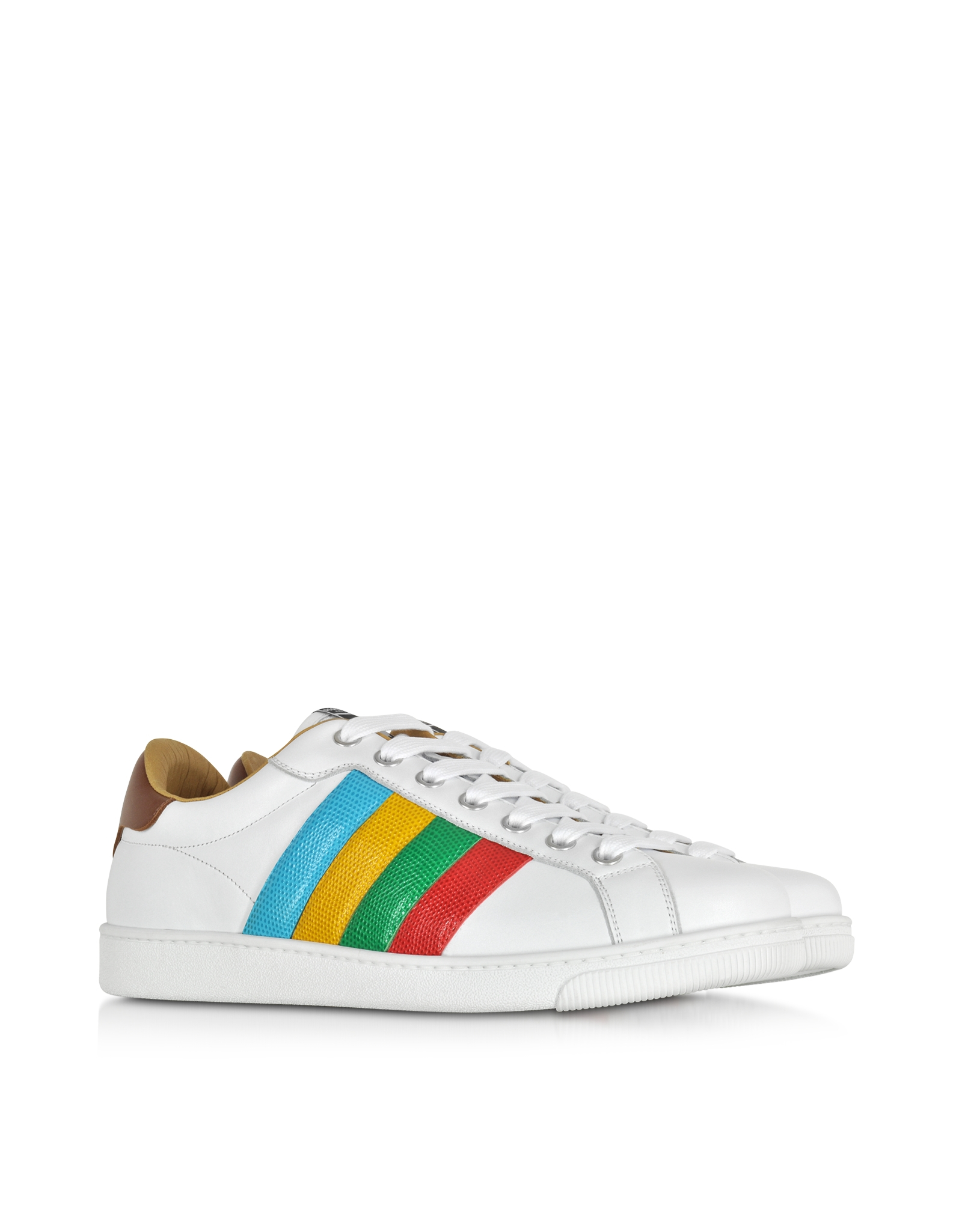 Dsquared2 Sneakers Santa Monica leather multicolour hAXJqg
