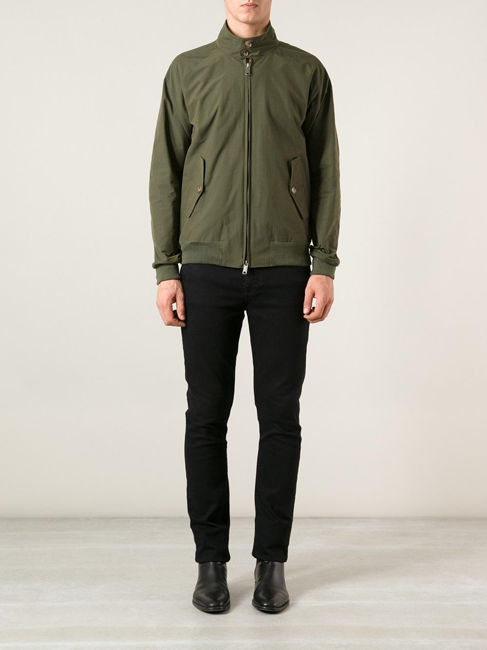 Lyst Baracuta G9 Harrington Jacket In Green For Men