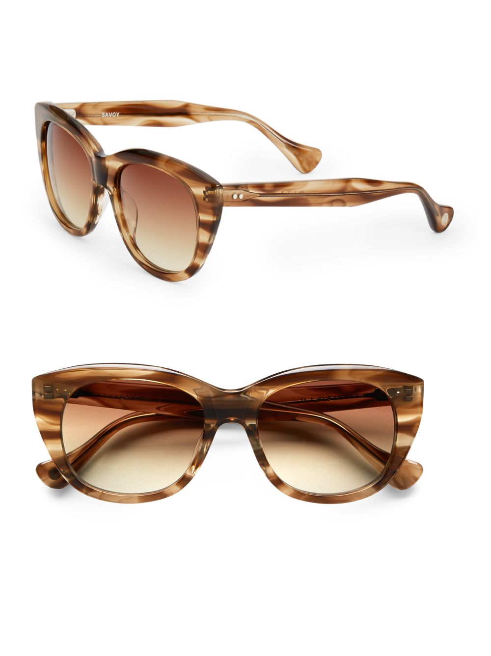 Dita eyewear Savoy Cat's-eye Sunglasses in Brown | Lyst Dita Eyewear