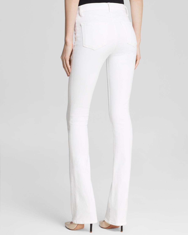 J brand high rise bootcut jeans