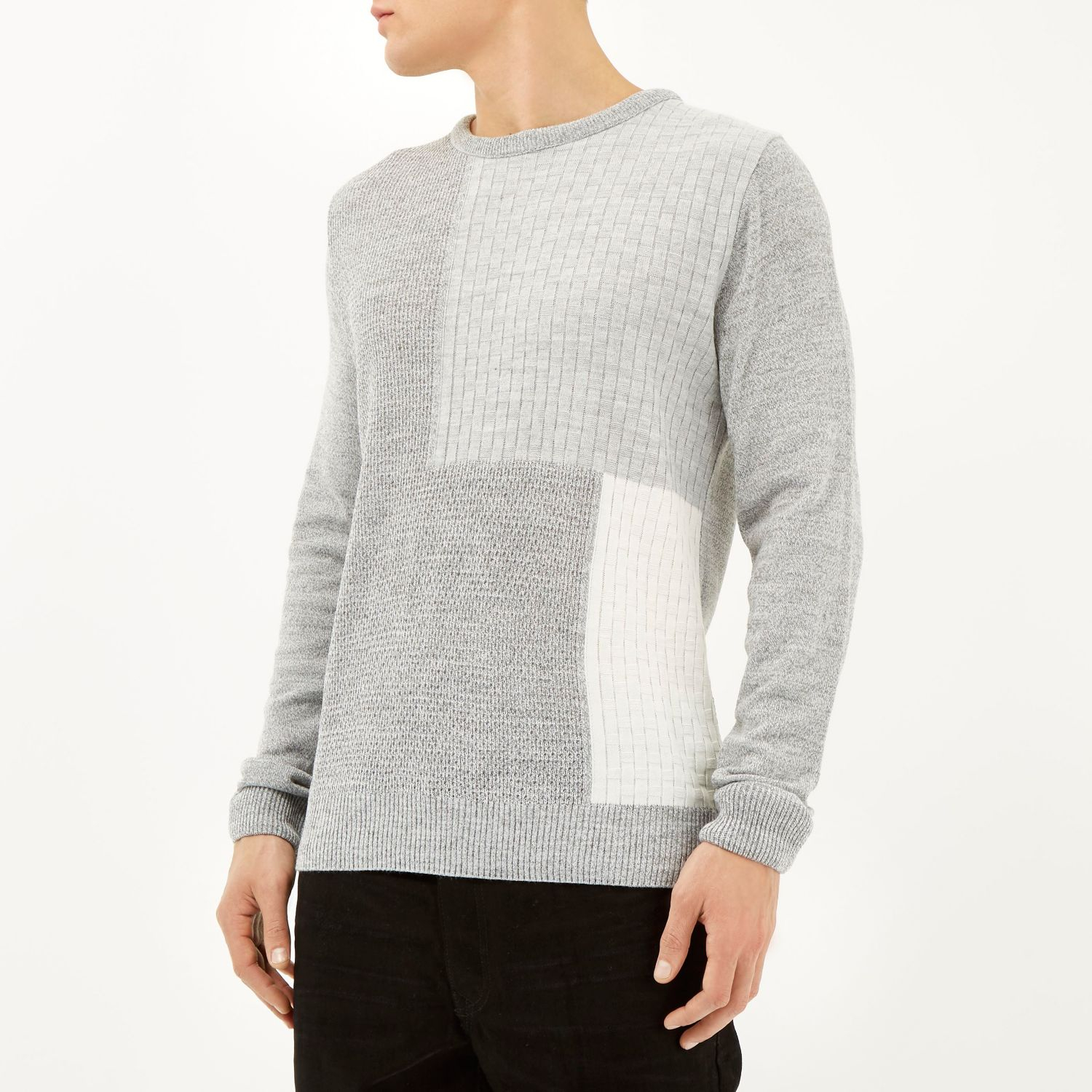 Gray Jumpers From River Island