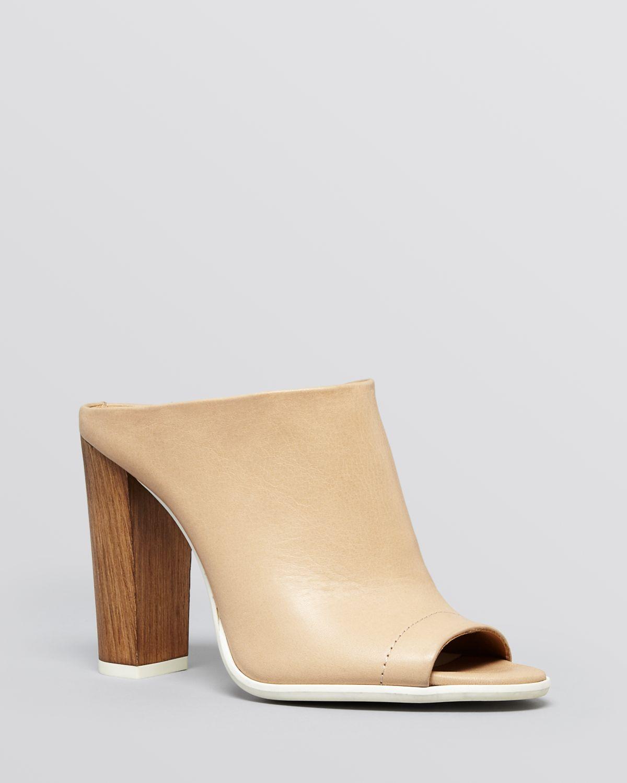 Lyst Vince Open Toe Mule Slide Platform Sandals