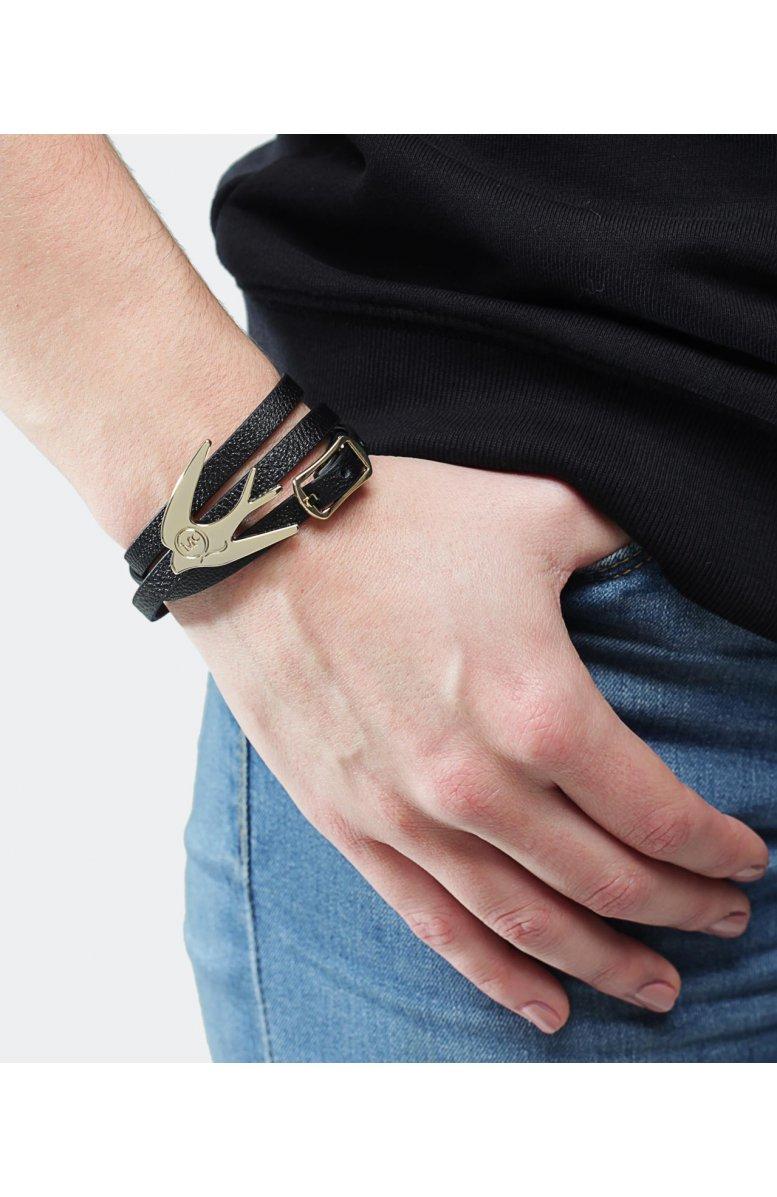 swallow bracelet - Black Alexander McQueen yp9RQL