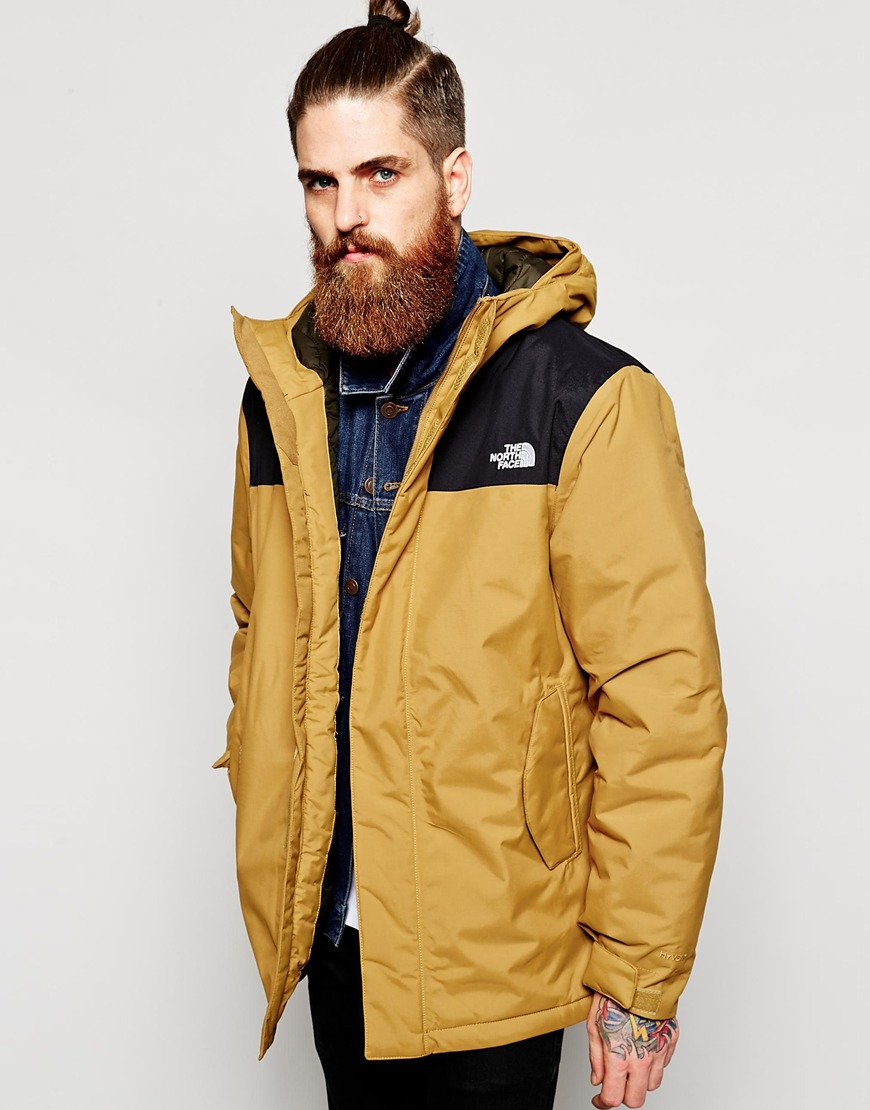 Lyst The North Face Meloro Parka In Natural For Men