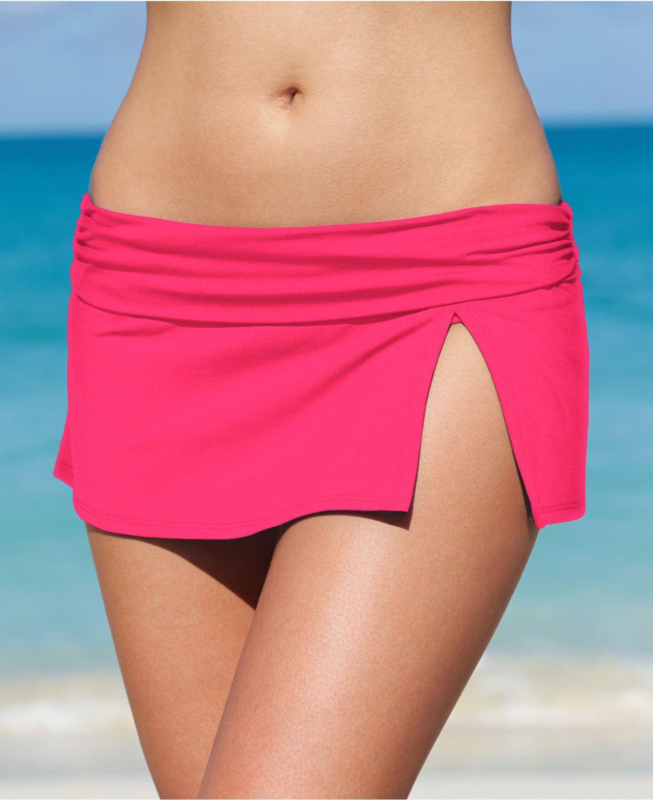 Pink Swim Skirt