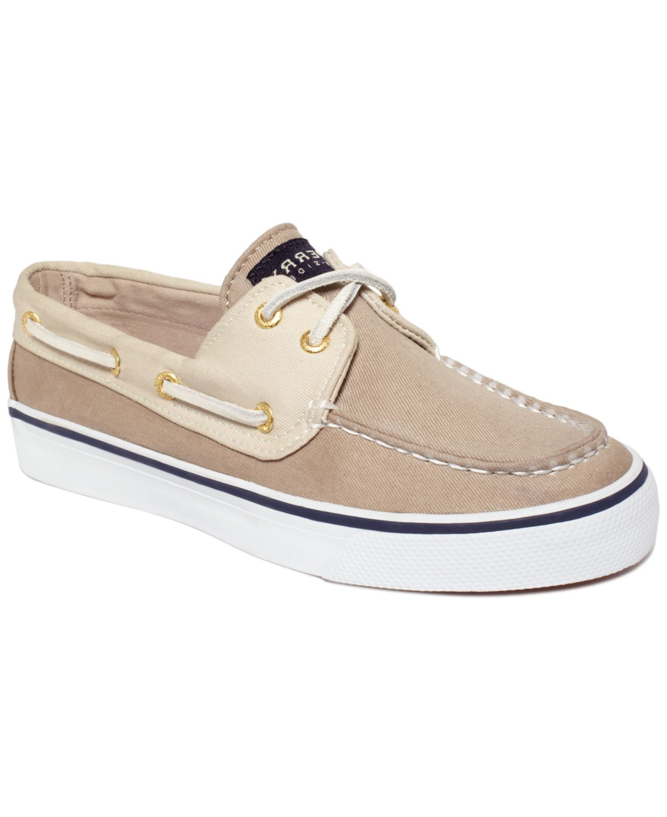 Lyst - Sperry Top-Sider Sperry Women S Bahama Boat Shoes in Brown 4d6c86c4b0