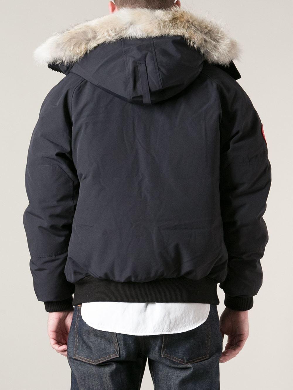 canada goose men's pbi chilliwack bomber jacket