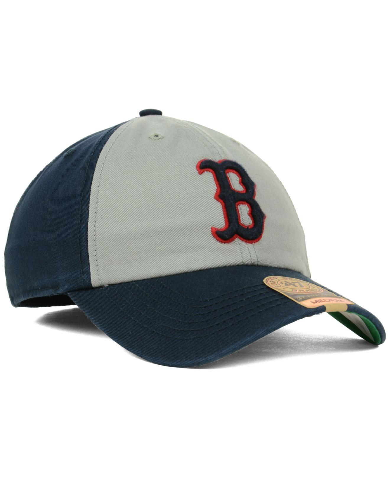 ef5770d6 47 Brand Boston Red Sox Vip Franchise Cap in Gray for Men - Lyst