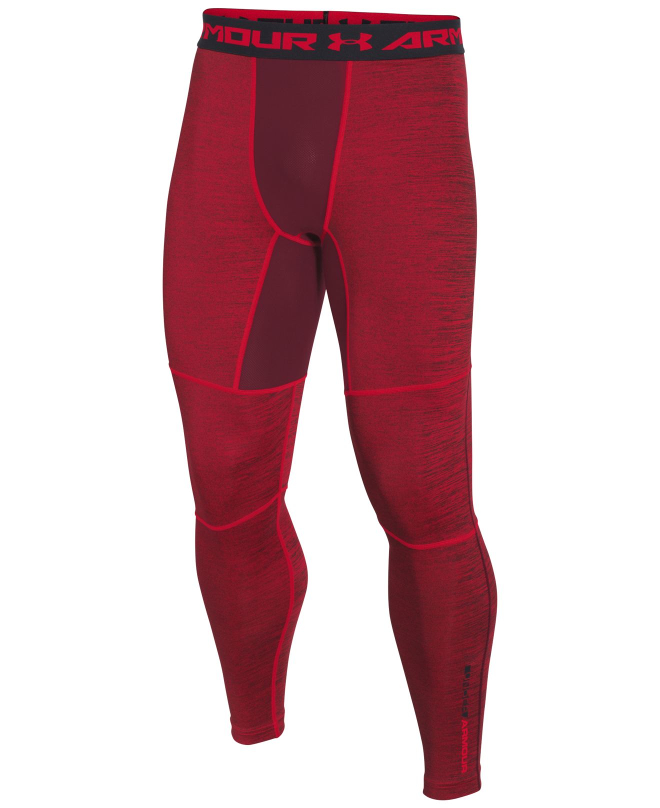 a1206b787d036e Lyst - Under Armour Men's Coldgear® Twisted Leggings in Red for Men under  armour coldgear