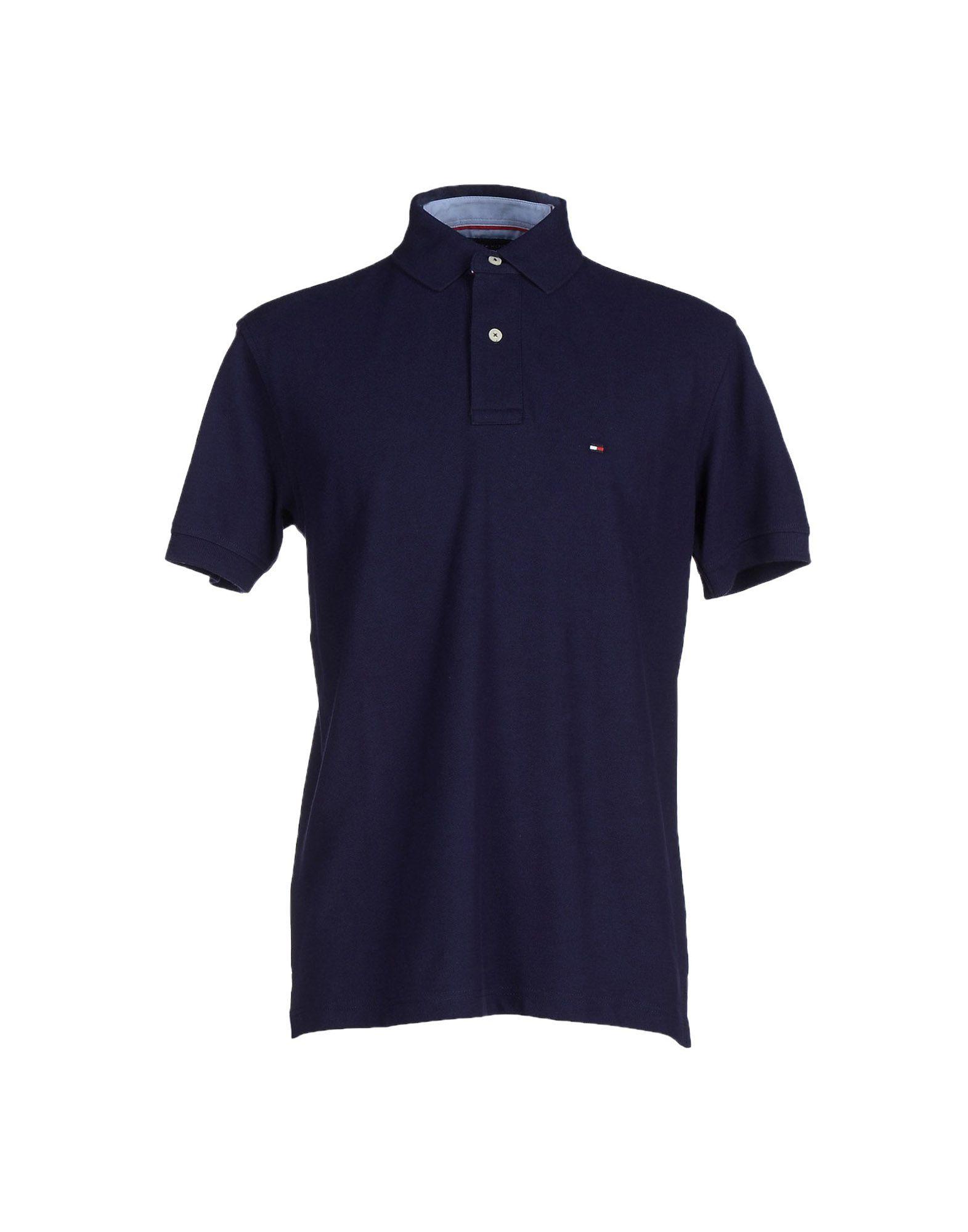 tommy hilfiger polo shirt in blue for men lyst. Black Bedroom Furniture Sets. Home Design Ideas