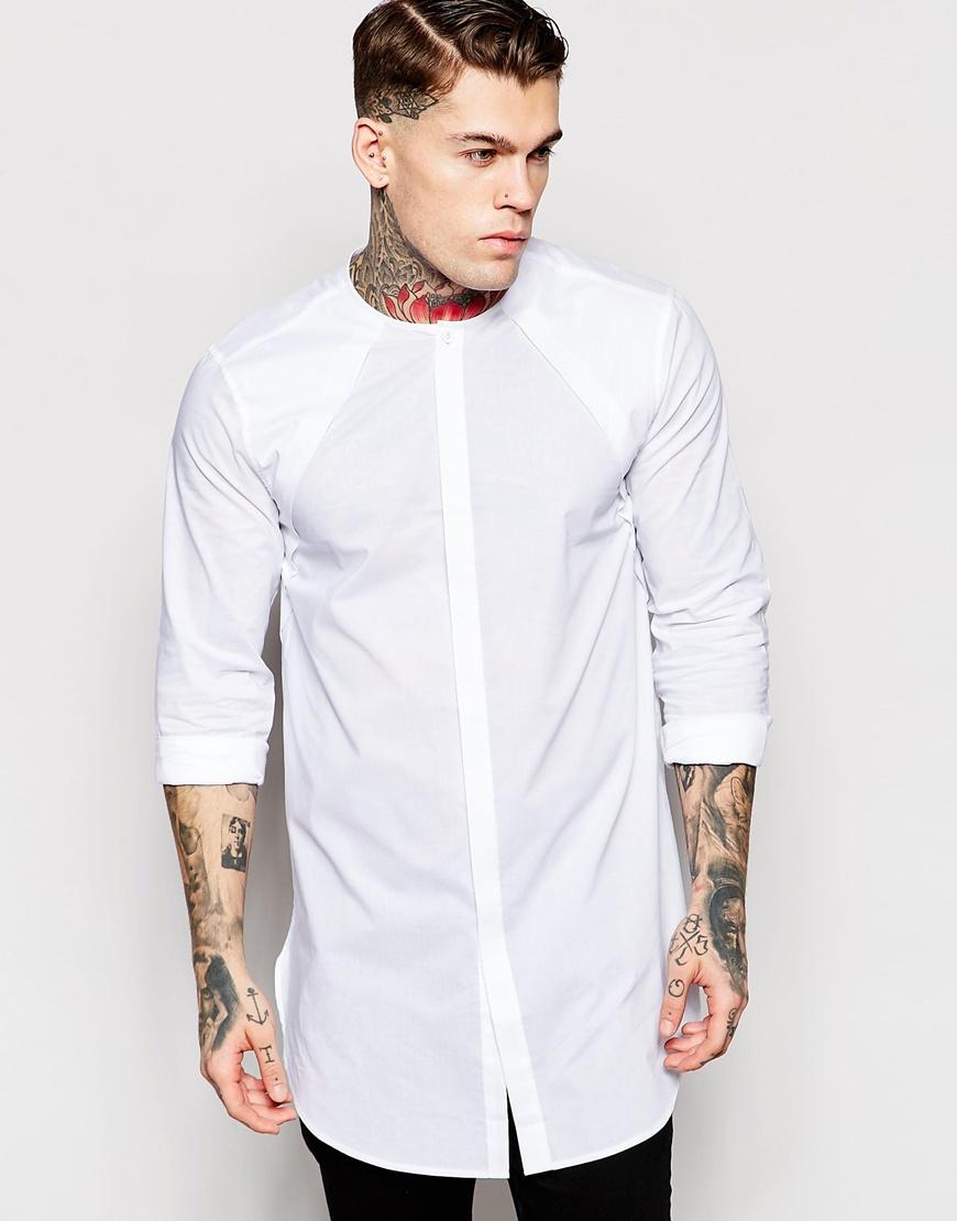 длинные рубашки мужские купить