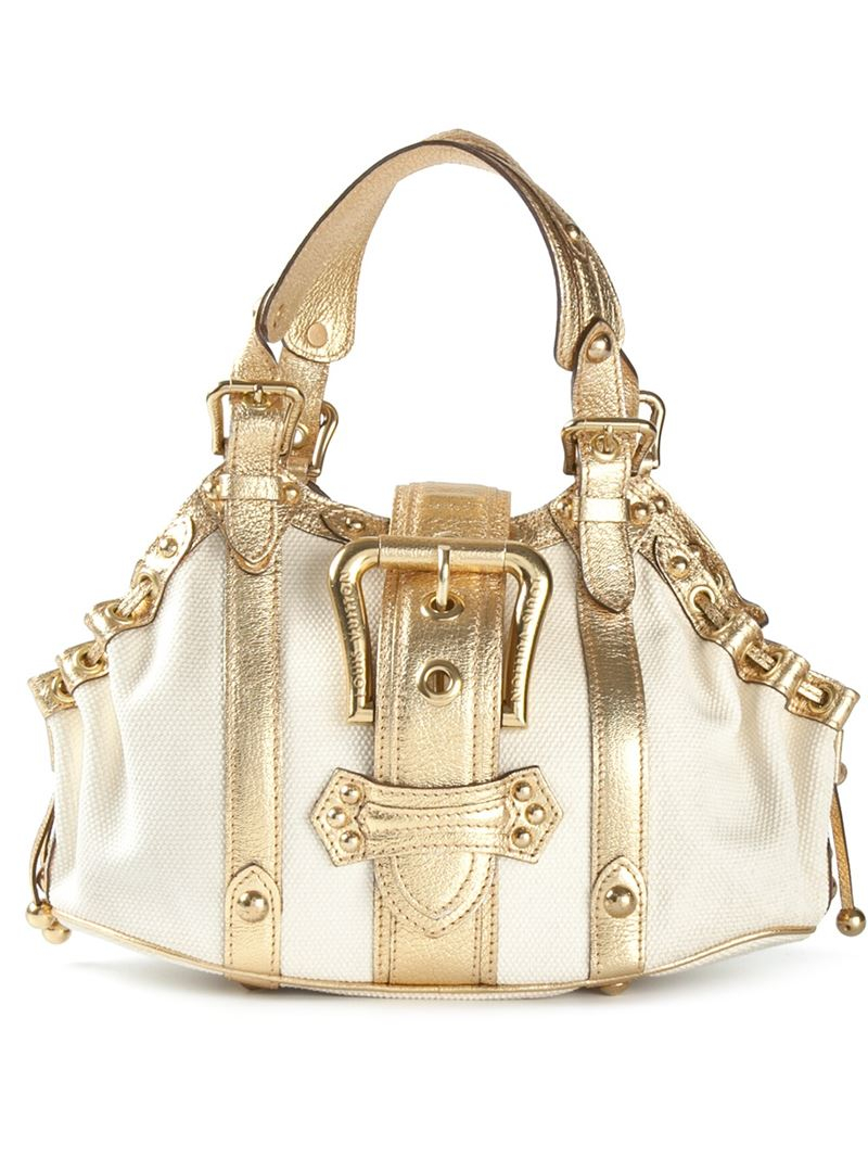 d8d1892c990b Lyst Louis Vuitton Antigua Theda Gm Tote In Metallic. Louis Vuitton  Metallic Calfskin Louise Clutch Gold 144458