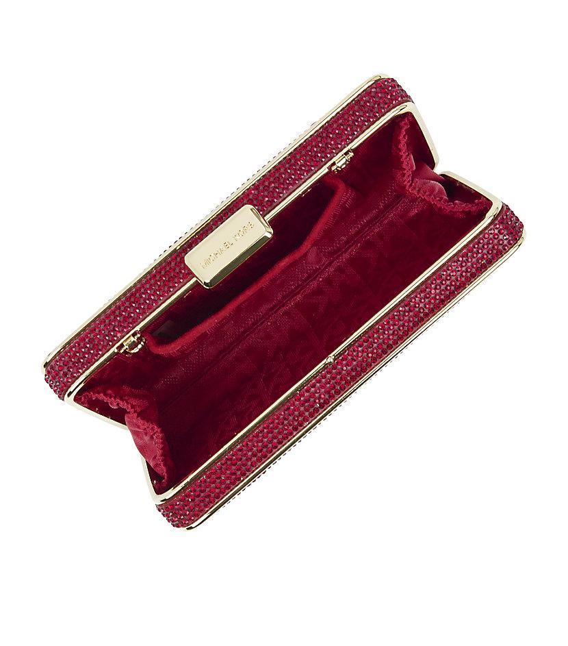 buy chloe bags online - chloe elsie crystal-embellished clutch, chloe saddle messenger bag