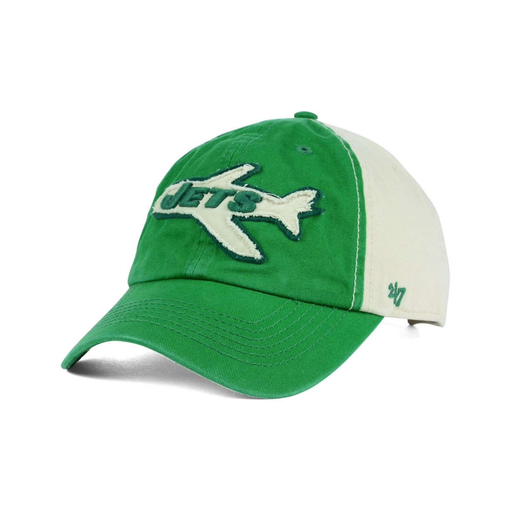 best sneakers 96cd2 68f98 ... discount 47 brand new york jets nfl derby clean up cap in green for men  . ...
