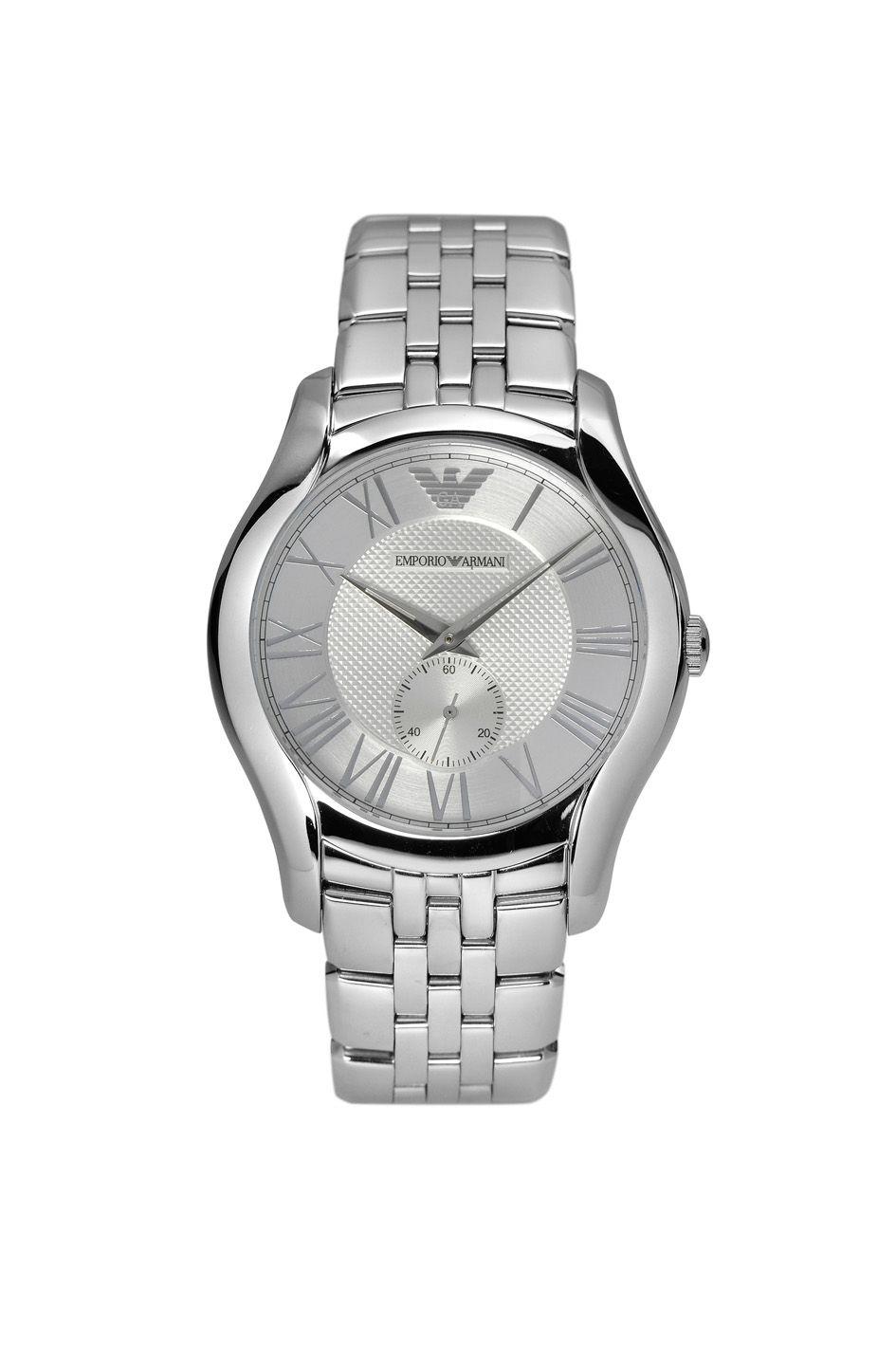 emporio armani ar1788 classic silver mens bracelet watch in gallery