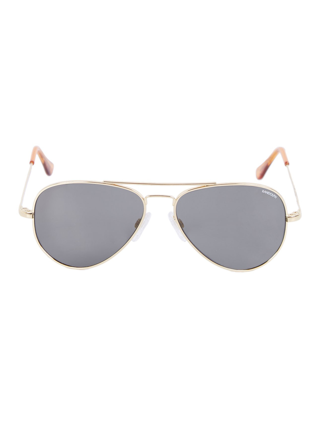 randolph engineering concord aviator sunglasses in gold