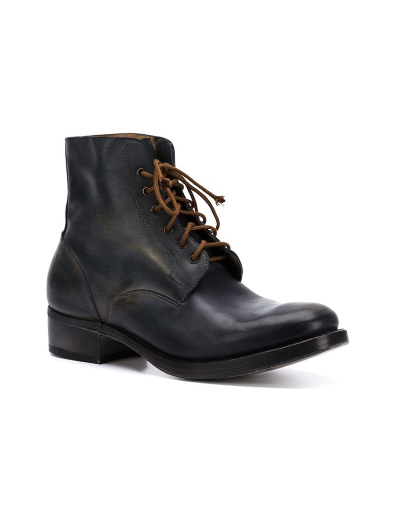 Hurry Up Geniue Stockist For Sale lace up ankle boots - Black CHEREVICHKIOTVICHKI Best Wholesale Free Shipping Many Kinds Of 03YieLJwEn