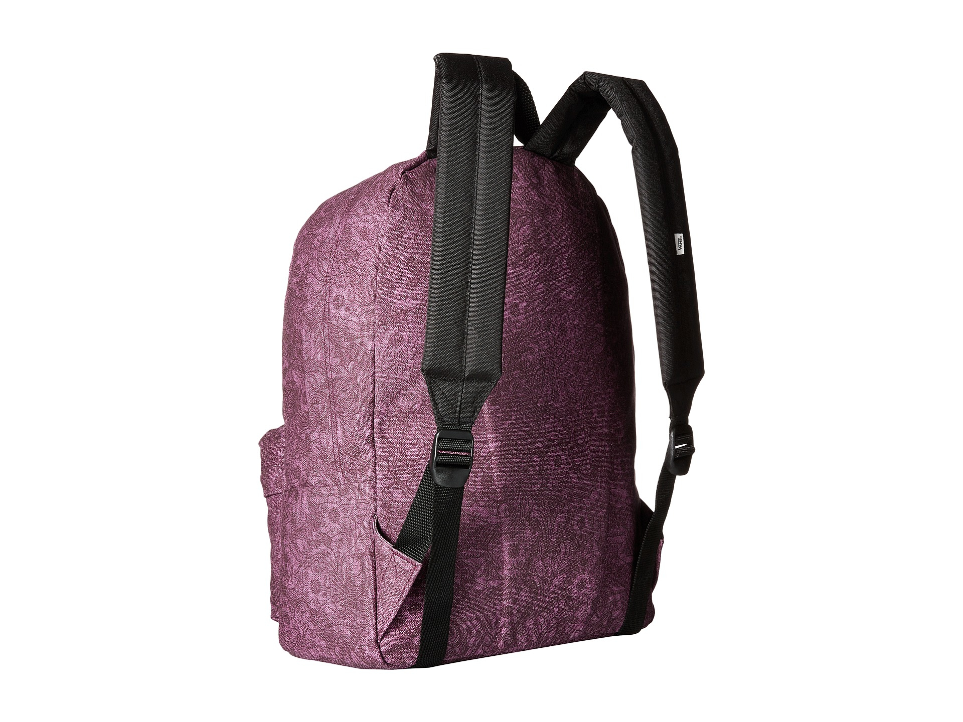 bf425918512 Purple Vans Realm Backpack- Fenix Toulouse Handball