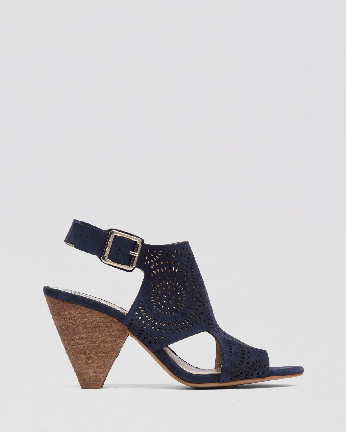 4316267a93 Vince Camuto Peep Toe Sandals Ellezi Cut-out High Heel in Blue - Lyst
